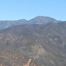Santiago Peak's South Slopes