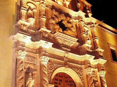 The Santo Domingo Church