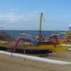 Traditional Fishing Boats On Sanur Beach
