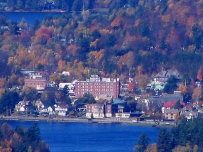 Saranac  Lake  Village