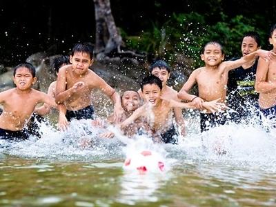 Sarawak Borneo Samarahan Serian Kids