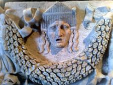 Sarcophagi And People Figure