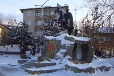 Atatürk Monument In Sarıkamış