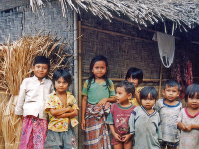 Local Sasak Children