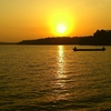 Sunset At Sasthamcotta Lake