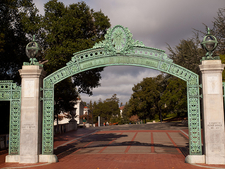 Sather Gate From Telegraph Avenue
