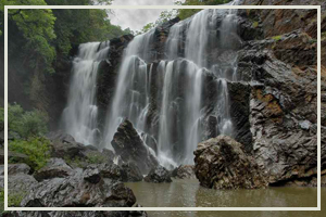 View Of Sathodi Falls