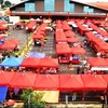 Satok Weekend Market - View