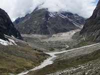 Satopanth Glaciar