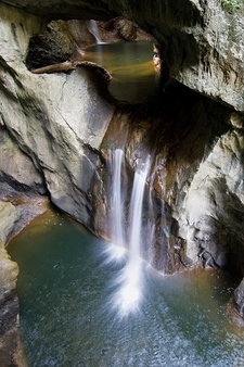 Savica - Small Waterfall - Skocjan Caves