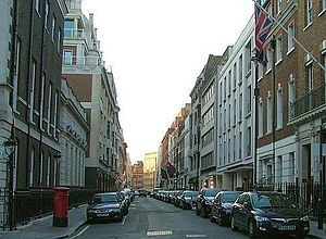 Savile Row From Burlington Gardens