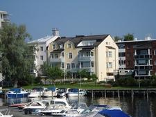 Savonlinna Town View From Docks - Finland