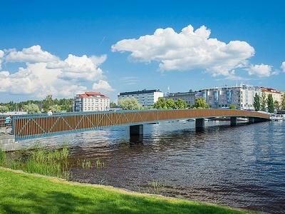Savonlinna Town View In Finland