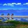 Sayram Lake Coastline