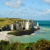 Scenic Etretat Coastline - Normandie France