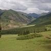 Scenic Kyrgyzstan Landscape