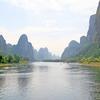 Scenic Li River At Yangshuo