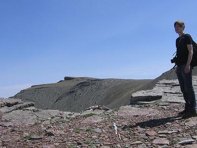 Scenic Point Trail Views - Glacier - Montana - USA