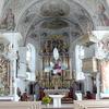 Scheffau Parish Church-Interior