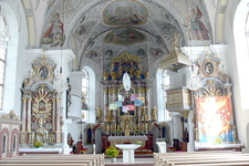 Scheffau Parish Church-Interior