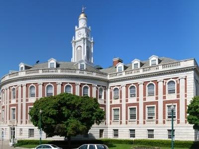 Schenectady City Hall Rear