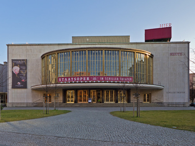 Schiller Theater In Berlin