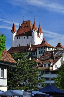 Schloss Thun Switzerland