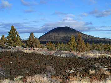 Schonchin Butte Cinder Cone At Dawn