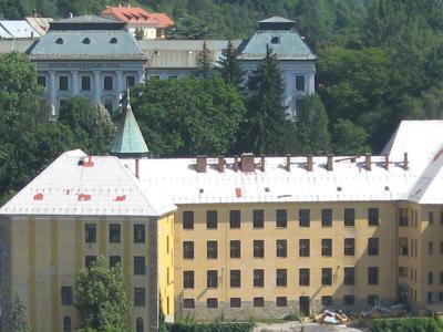 School Buildings In Banska Stiavnica