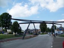 Bridge In The Centre Of Village