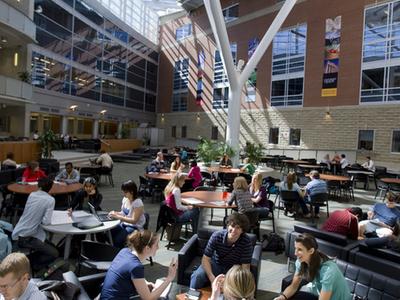 Atrium In Science Complex