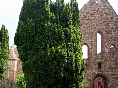 Beauly Priory Facade