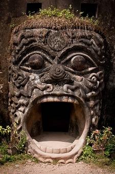 Sculpture At Buddha Park