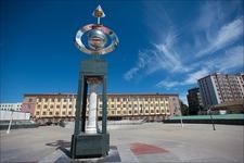Sculpture At Ulaanbaatar