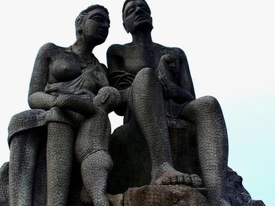 Sculpture Closeup