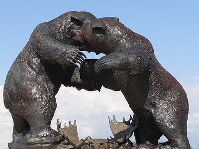 Sculpture In Wildwood Preserve Metropark