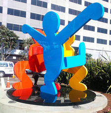 Sculpture Outside Moscone Center