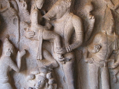 Sculptured Side Panels Varaha