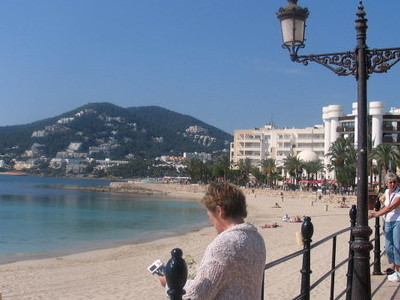 Seafront And Beach.