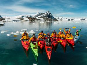 Antarctic Sea Kayaking Photos