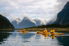 Sea Kayaks @ Milford Sound - Fiordland - Southland NZ