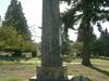 Nisei War Memorial At Lake View Cemetery