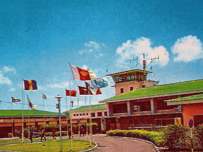 Former Seawell Airport During The 1960s
