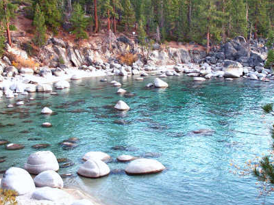 Secret  Beach     Lake  Tahoe  East  Shore