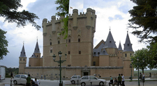 Segovia Alcázar Castle From Car Park