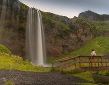 Seljalandsfoss Waterfalls & Viewing Platform