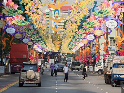 Serangoon Road Around Diwali