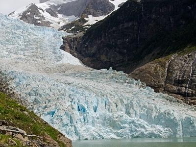 Serrano Glacier In Chile Patagonia