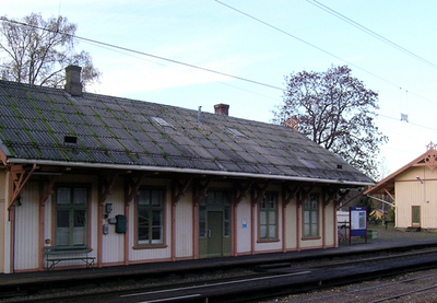 Seterstøa Station In Nes Was Built In 1862