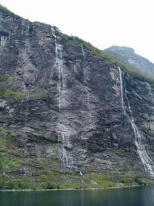 Dimished Flow Of The Seven Sisters Waterfall